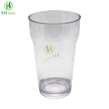 Unbreakable clear plastic glasses beer cup plastic drinking glasses
