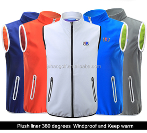 New list windproof waistcoats for men winter sports warm vest