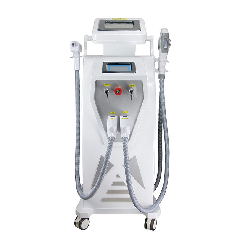Multifunctional Beauty Ipl  Laser  Nd Yag Hair Removal Machine