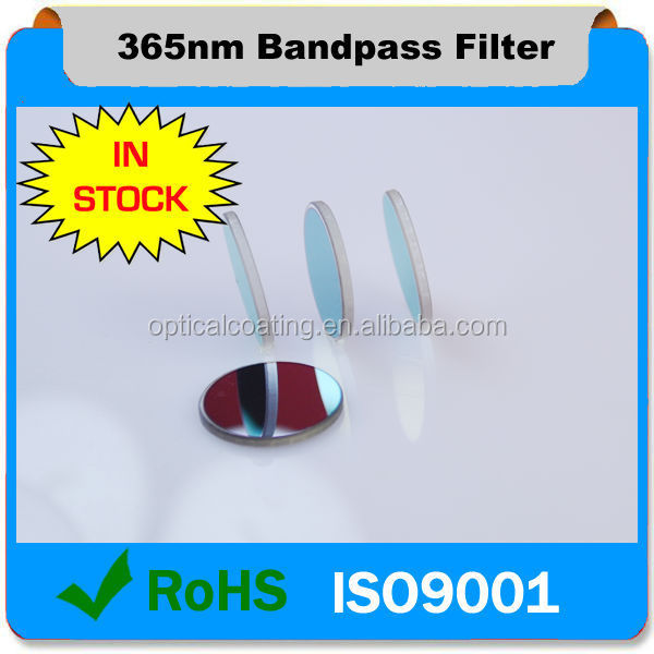 365nm fluorescence filter UV filter for laser diode and LED