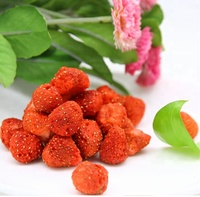 Wholesale crispy freeze dried strawberry, snack fruit,