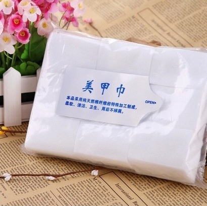 New 2015 900Pcs Nail Art Wipes Lint Cleaner Paper Pad Acrylic Gel Polish Tips Remover
