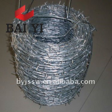 Electro Galvanised Zinc Coated Barbed Wire ( Direct Factory )