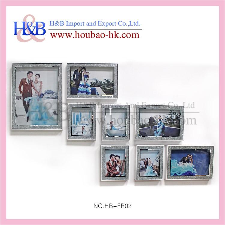 Material de vidrio y marco de fotos tipo barato marcos de fotos de ...
