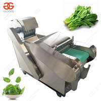 Stainless steel industrial Leaf vegetable spinach cutting machine