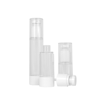 15ml 30ml 50ml Refillable empty luxury plastic ABS airless body lotion pump bottle cosmetic packaging