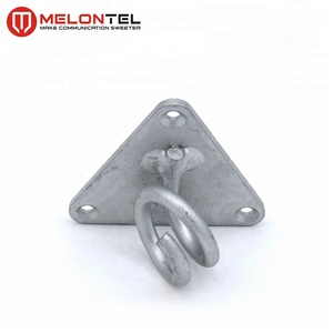 MT-1703 hot galvanized clamp house clamp bracket hose clamp