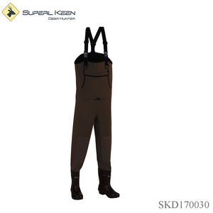 Outdoor Hunting Neoprene Cleated Boot-foot Chest Wader fishing chest wader