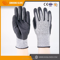 Top Quality latex coated gloves leather working gloves