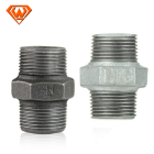Equal Materials Pipe Fittings Pipe Fitting Iron Manufacturing Plumbing Materials Plomberie Mi Iron Pipe Fittings Nipples
