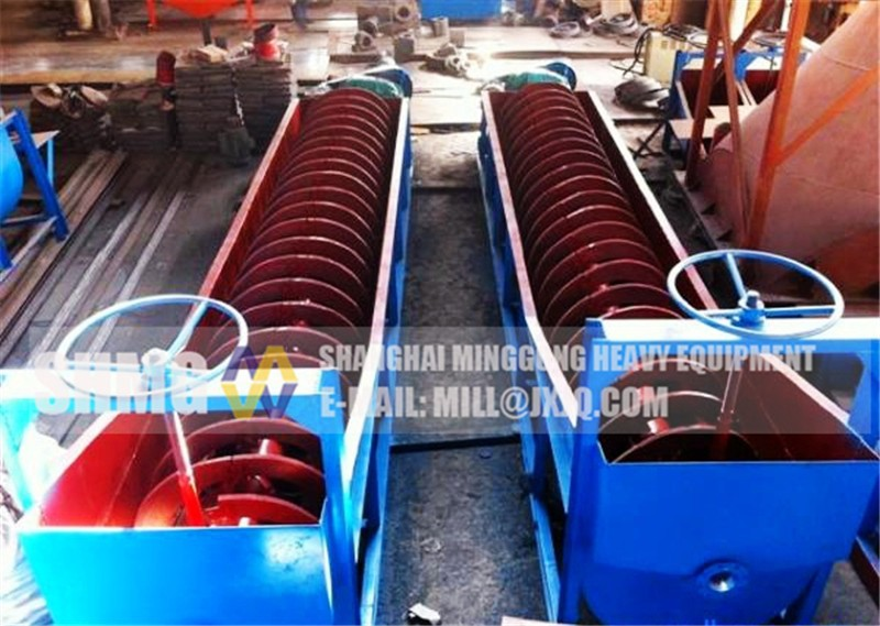 Newest mineral processing high quality spiral classifier