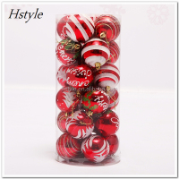 China Supplier Christmas Ball With Wire Xmas Polyfoam Ball Paper Wrapped Ball With Glass Bead SSD017