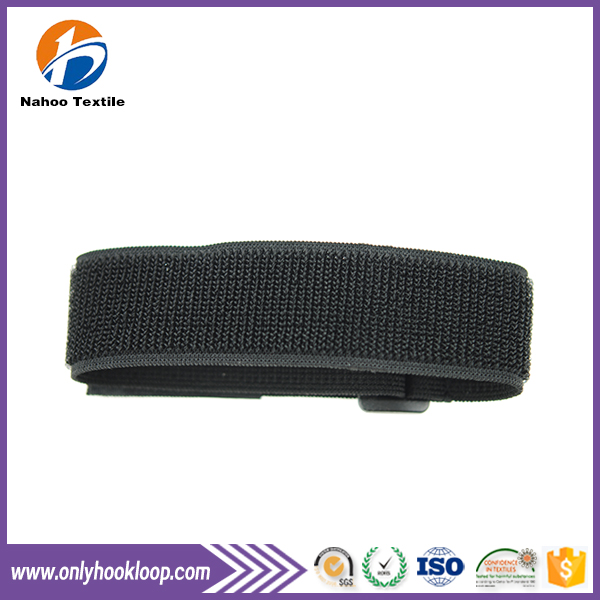 High Standard Acrylic Gule Elastic Rubber Tape / Magic Tape Hoop and Loop rubber Tape