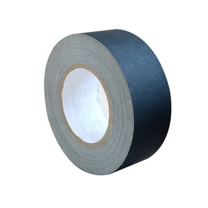 Black Gaff Matte Cloth Gaffers Tape For Pro Photography,Filming Backdrop Non-Reflective