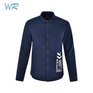 New design stylish casual wear 100% cotton full sleeve shirts for men