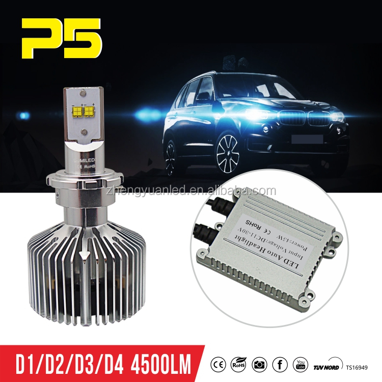 Car Accessories Hight Quality D2S Led Auto Headlight kit Led Lights For Car