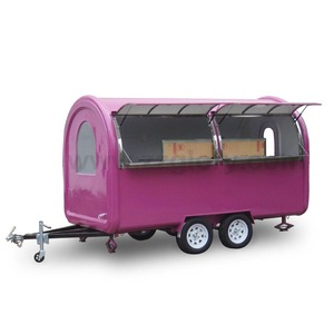 Beauty Economic and practical Buy Mobile Ice Cream Dining Box Food Van Trucks for Sale