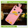 Wholesale cute 3d silicone animal case for iphone4 4s/for ipone 4 4s 3d animal case