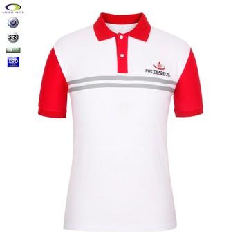 Cheap Custom Embroidery Mens Uniform Vary Color Polo