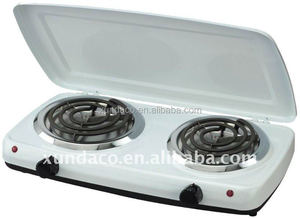 2 plate electric cooking hot plate kitchen cooker