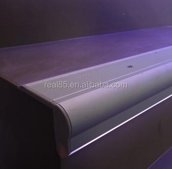 Linear LED Bar For Stair Nose,illuminated Stair Nosing.frosted/Clear Cover.