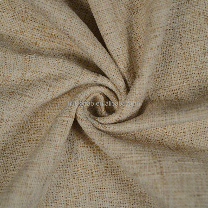 75% polyester 25% viscose two tranquil colour plain patterned fabric with a beautiful look