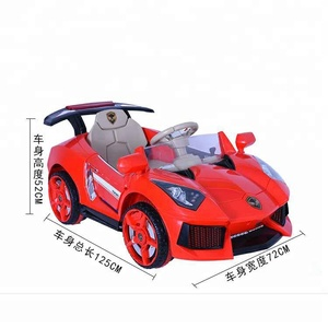 Electric toy car for kids with remote control / kids electric cars 24v toy for sale