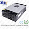 High Capacity 15KVA Hybrid Low Frequency pure sine wave Solar inverter with Inbulit MPPT Solar Charge Controller
