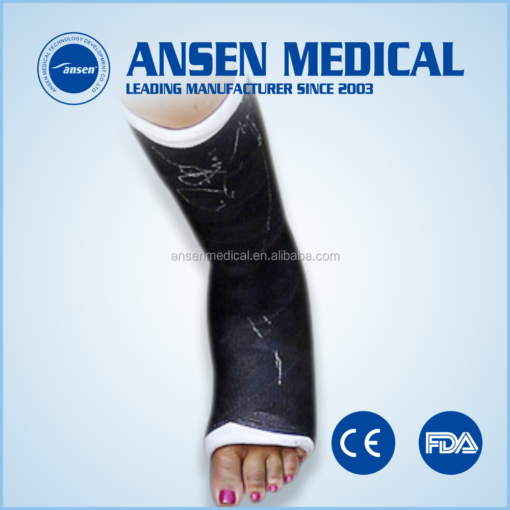 Horse Foot Fracture Fixation Casting Bandage, Medical Dressing Fixation Plaster Cast
