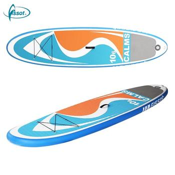 Multi-color selling professional custom inflatable surfboard sup board pad wakeboard with high quality