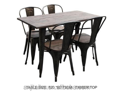 TH-T1003S new design table and vintage chair hot sell