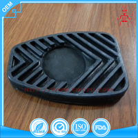 Custom design silicone protection rubber part for auto logo