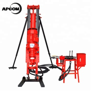 APCOM Factory Wholesale 100 m 100m small water well drilling machine man portable borehole tripod down-the-hole drill rig