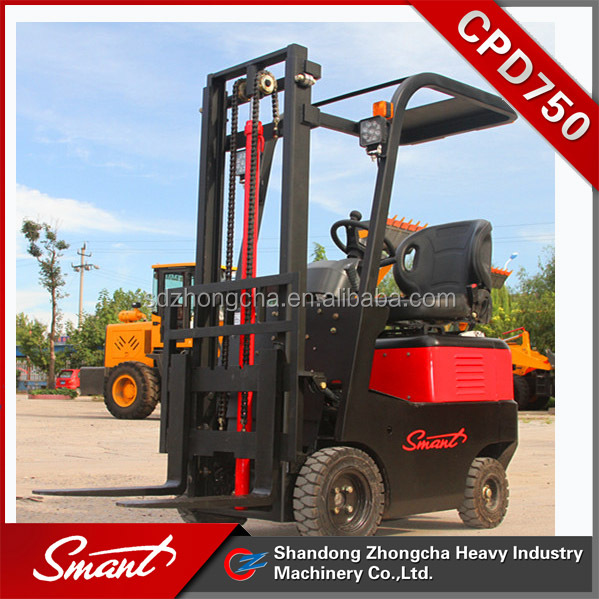 CPD750 material handing equipment pallet truck manufacturers 48v battery