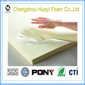 thin bulk visco-elastic memory foam sheet
