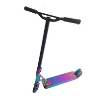 2018 high quality low price rainbow pro stunt scooter freestyle scooter