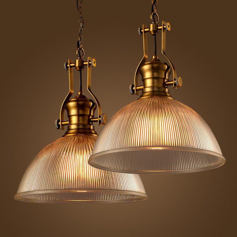 industrial lamparas luminaire suspendu lamp lights loft copper glass pendant lights edison light. Black Bedroom Furniture Sets. Home Design Ideas