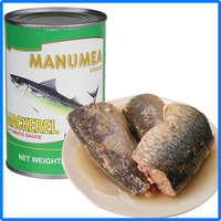 2016 new design paching canned mackerel in tomato sauce/brine/oil