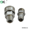 American type brass male threaded hydraulic hose coupling fittings