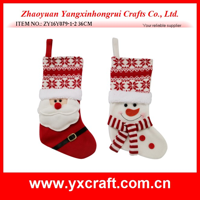 Christmas stocking (ZY16Y079-1-2 36CM)