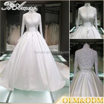 Muslim Bridal Wedding Dress Hot Sale High Quality Gown
