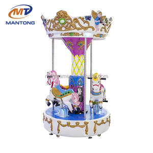 Manufacturer!!!portable amusement kiddie ride small carousel rides