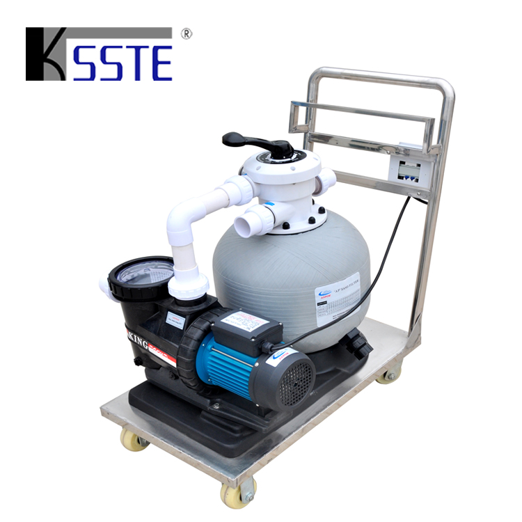 China Combo Filter Pump Swimming Pool Portable Vacuum Cleaner With Trolley  - Buy Portable Vacuum Cleaner,Pool Vacuum Cleaner,Filter Pool Cleaner ...