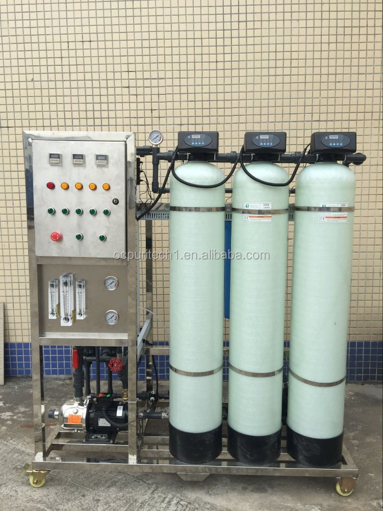750LPH UF control PVDF membrane ultrafiltration equipment system