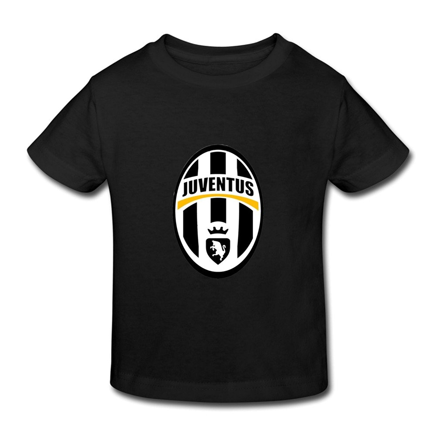 Get Quotations · Little Boys And Girls Cool Juventus Cotton Tee Shirt 5-6  Toddler Black 9b366dbed0e