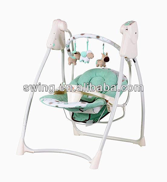 Sedia A Dondolo Per Neonati.Swing Sedia A Dondolo Per Bambini Elettrico Neonato Altalena Baby
