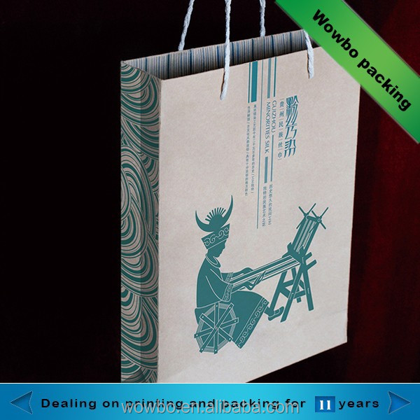 wholesale custom kraft local specialty packing bag