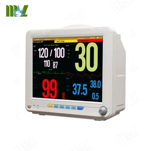 Portable 12.1inch 6 Multi-parameters Patient monitor/ MSLMP12 ambulance equipment medical patient monitor for sale