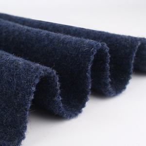 Winter 100% wool boiled knitted fabric for garment