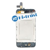 Free DHL Shipping High Quality Full assembly with front camera, home button, bracket Digitizer Touch Screen LCD for iPhone 3G